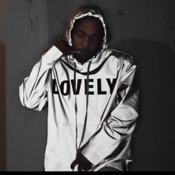 3648587d971474 Kendrick Lamar Lovely Reflective Hoodie. M 5bf4683b34a4ef818727e4fe